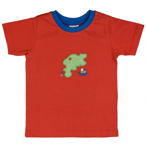 Kinder T-Shirt rot Bio Baumwolle People Wear Organic_1.jpg