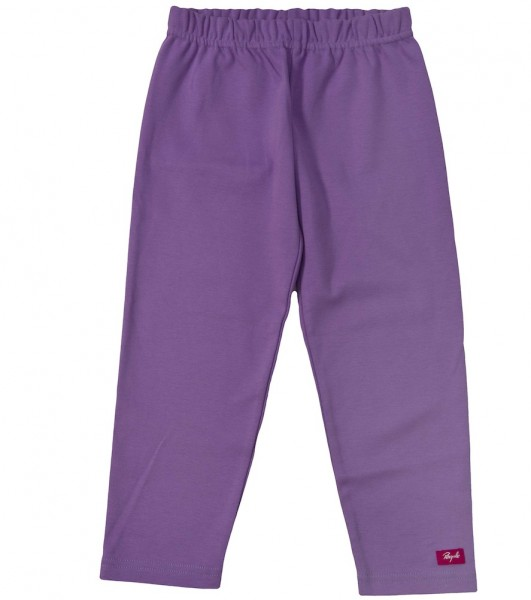 Kinder Leggings violett kbA Bio Baumwolle People Wear Organic_1.jpg