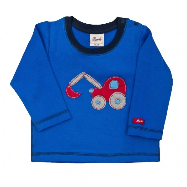 Baby LA Shirt blau mit Applikation Bio People Wear Organic_1.jpg