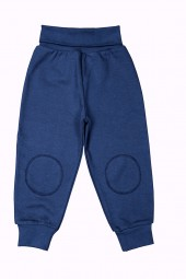 Baby Sweathose blau Bio Baumwolle People Wear Organic