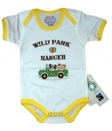 Fairtrade Body Wildpark gelb Bio Baumwolle EBi & EBi